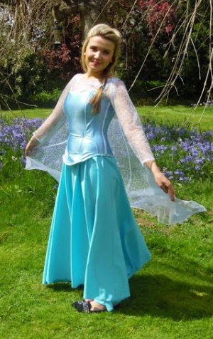 Elsa  sc 1 st  Masquerade shop Suffolk fancy dress costume hire & Elsa fancy dress hire Anna costume hire Olaf mascot costume hire ...