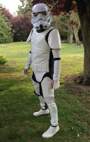 Stormtrooper & Stormtrooper fancy dress hire Star wars costumes for hire ...